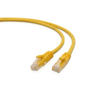 7 Ft Yellow Cat 5 cable